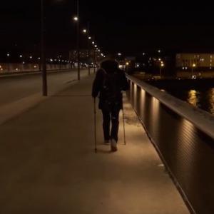 Rando nocturne - Promenons-Nous Dans le Neuf_3, de Rosa Parks au Parc Georges Valbon