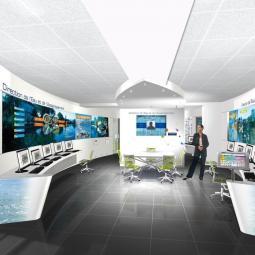 Maîtriser les inondations, le central de gestion automatisée du réseau d'assainissement