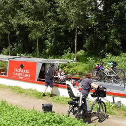 Cycling cruise on Canal de l'Ourcq: from Sevran to Paris