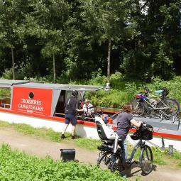 Escapade en bateau du Parc forestier de la Poudrerie à Paris (on peut même emporter son vélo)