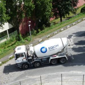 Le fonctionnement de la centrale à béton d'Eqiom