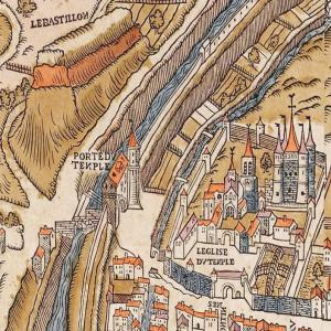Des remparts de Charles V à la Commanderie des Templiers