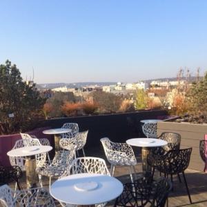 Roof-top et hauteur de vue - Hôtel Courtyard Paris Boulogne-Billancourt