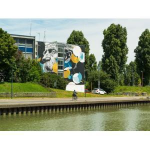 Brunch au Point Ephémère + croisière street art