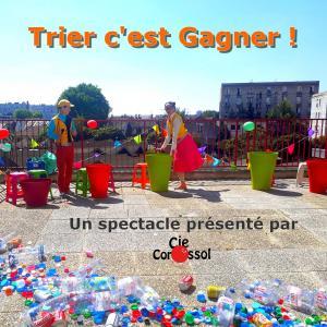 Spectacle de rue Trier C'est Gagner - au Port de Loisirs