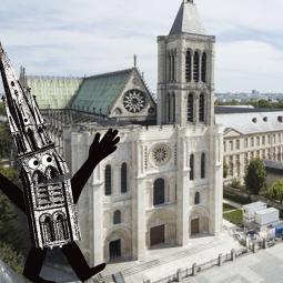 Expérience : la Basilique Saint-Denis vue du ciel ! - Journées du patrimoine