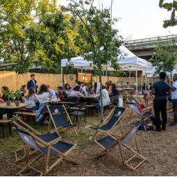 Garden Party au Jardin 21 - Avant le Cinéma en plein air
