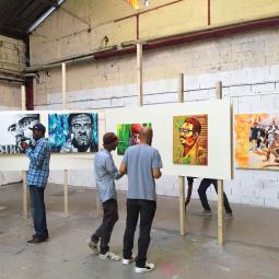 """Visite guidée street art """"La Rétrospective"""" de Manufacture 111"""
