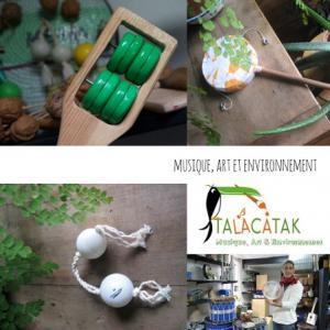 Atelier de musique brésilienne avec TALACATAK et Alter Paname au Port de loisirs