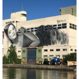 Croisière Street Art sur le canal de l'Ourcq