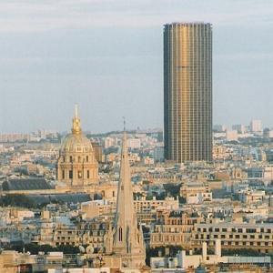 La quartier de la Gare Montparnasse