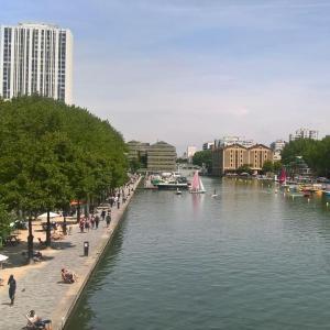 Jeu de piste PariSolidari-Thé autour du Bassin de la Villette