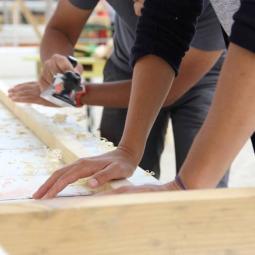 Atelier bricolage au Port de loisirs de l'Eté du Canal