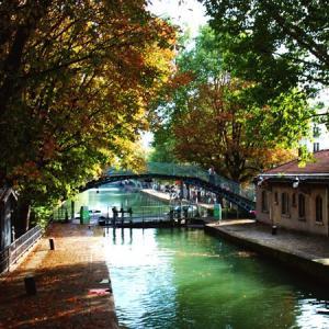 Le canal Saint-Martin, de La Grisette à la Villette