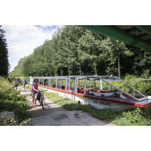 L'appel de la forêt - En bateau de Pantin au Parc forestier de la Poudrerie (on peut même emmener son vélo pour le retour)