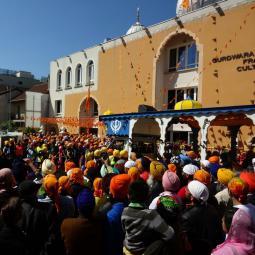 Le temple Sikh de Bobigny, le plus important lieu de culte en France