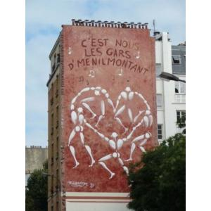 Street Art tour in Paris