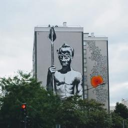 Vitry street art tour, the best place  in Paris for street art
