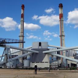Parcours artistique dans l'ancienne centrale EDF de Vitry-sur-Seine