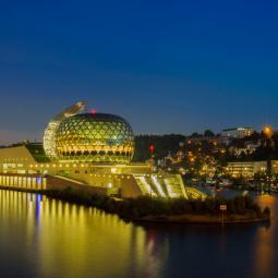 La Seine Musicale, moderne et audacieuse