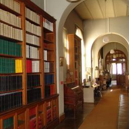 La bibliothèque de l'Ecole vétérinaire d'Alfort