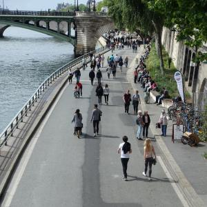 Le nouveau parc des Rives de Seine © Guilhem Vellut