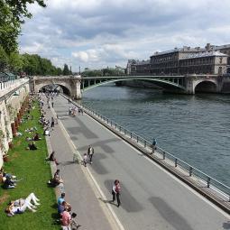 Le nouveau parc des Rives de Seine