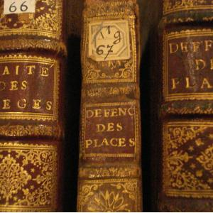 Visite de la bibliothèque du service historique de la Défense au Château de Vincennes