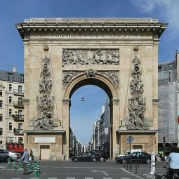 Rue du Faubourg Saint-Denis, de la Porte Saint-Denis à la Gare de l'Est