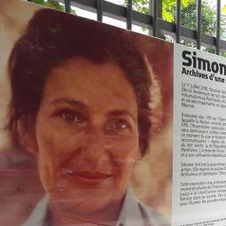 Simone Veil, archives d'une vie, aux Archives nationales