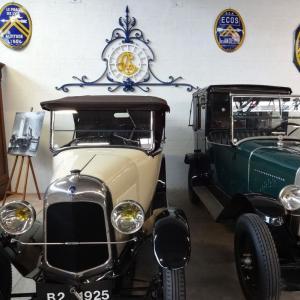 Conservatoire Citroën, le musée de la marque aux chevrons