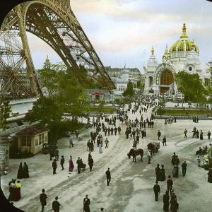 Conférence - Exposition Unierselle de 1900 à Paris