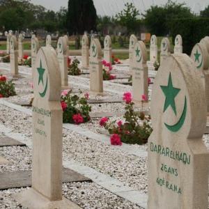Le cimetière musulman et son exposition sur les soldats coloniaux de 14-18