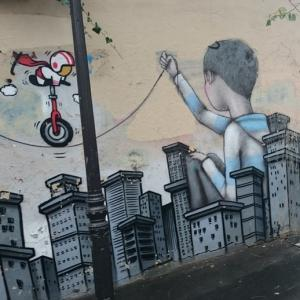 Street art tour: Murals around the 13th district in Paris