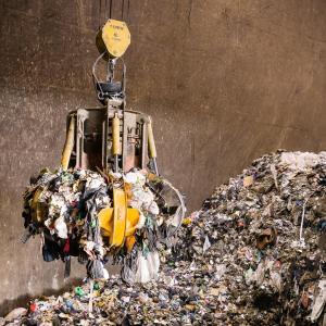 Le centre de traitement des déchets de Créteil Pompadour © Jérôme Baudoin