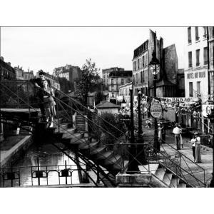 Ciné-balade De la gare du Nord au canal Saint-Martin