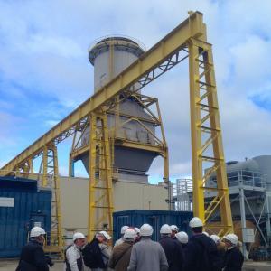 Au coeur de la centrale thermique EDF de Gennevilliers