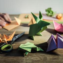 Atelier Origami spécial Noël / 7 - 11 ans