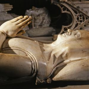 Gisant de Marguerite de Flandre © Pascal Lemaître Centre des monuments nationaux