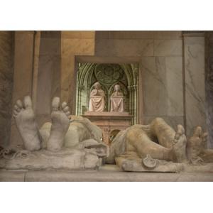 Tombeau de Henri II et Catherine de Médicis, gisants © Pascal Lemaître Dist. Centre des monuments nationaux