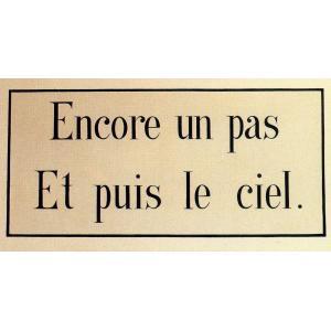 Anonyme, Sentence du carmel. musée d'art et d'histoire – Saint-Denis. © Irène Andréani