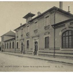 Le collège Joséphine Baker à Saint-Ouen