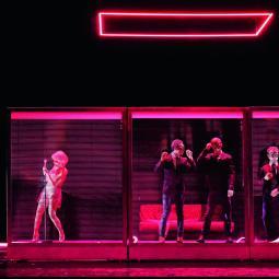 Des coulisses au spectacle : Pavillon noir au Centquatre-Paris, suivie d'une rencontre avec l'équipe artistique