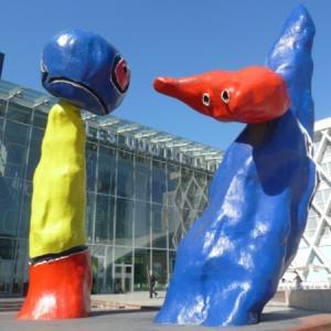 La Défense, open-air art space