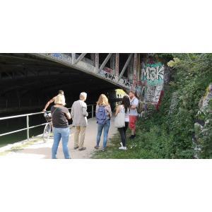 Balade street art le long de l'Ourcq : un musée à ciel ouvert