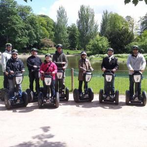 Balade en gyropode au Bois de Vincennes