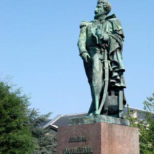 Statue du général Daumesnil © Archives municipales de Vincennes