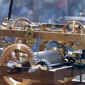 Mécanisme de l'horloge de la maison du combattant