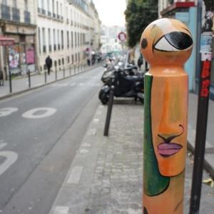 Du street art sur la butte Montmartre
