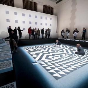 """Visite de l'exposition """"Si le temps est un lieu"""" au Centquatre-Paris"""